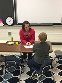 Lindsey Spilecki, Speech Language Pathologist with Hancock