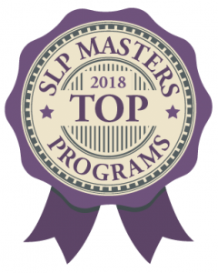 2018's Top SLP Master's Programs
